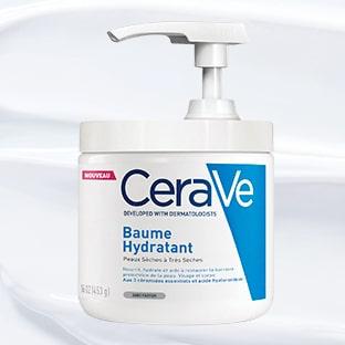 Test Sampleo : 1000 baumes hydratants CeraVe gratuits