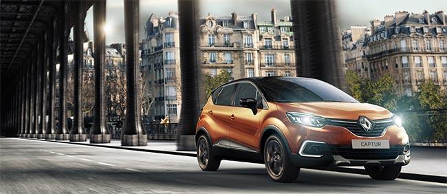 Tentez de remporter une voiture Renault Captur