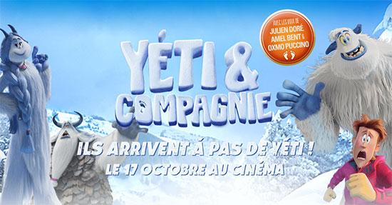 jeu film Yéti & Compagnie de Travelski