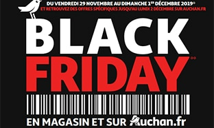 Auchan Black Friday 2019 : Le catalogue et ses réductions