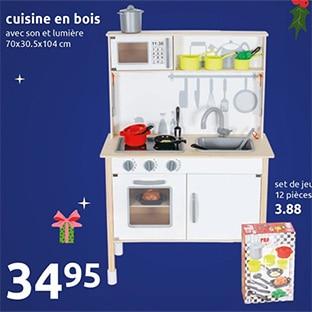 action cuisine en bois pour enfants 34 95 seulement. Black Bedroom Furniture Sets. Home Design Ideas