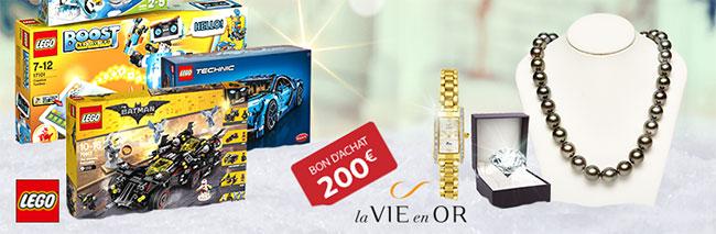 cadeaux à gagner au jeu La Hotte de Noël de Auchan