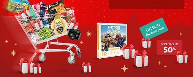 Les cadeaux du jeu En route vers Noël avec Auchan