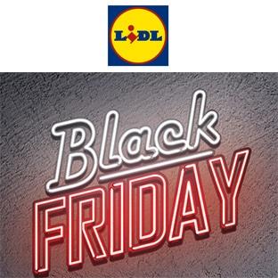 Catalogue Black Friday de Lidl : Du 21 au 27 novembre 2018