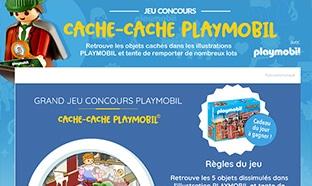 Jeu Playmobil : 32 boîtes de jouets et 3 gros lots à gagner
