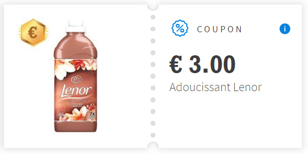 Coupon de réduction Adoucissant Lenor