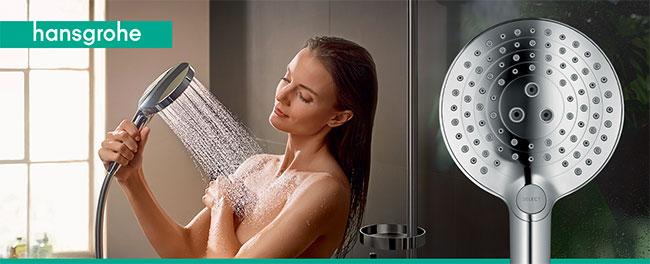 testez la douchette Hansgrohe Raindance Select S avec TRND
