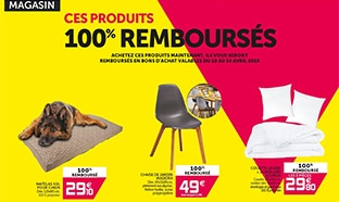 Gifi : 14 produits 100% remboursés (jouets, mobiliers, lampes ..)