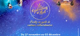Jeu Auchan Les Explorateurs : 500 pulls de Noël Disney à gagner
