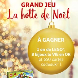Jeu 125 jours Auchan : La Hotte de Noël