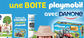 Jeu achat Danone Nature Bio : 1200 boîtes Playmobil à gagner