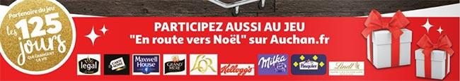 Jeu web Auchan sur https://Jeu.Auchan.fr/Jeu_de_Noel