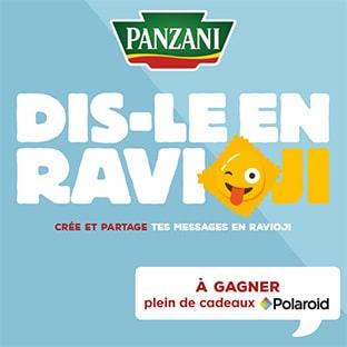 Dis-le en Ravioji : Jeu Panzani