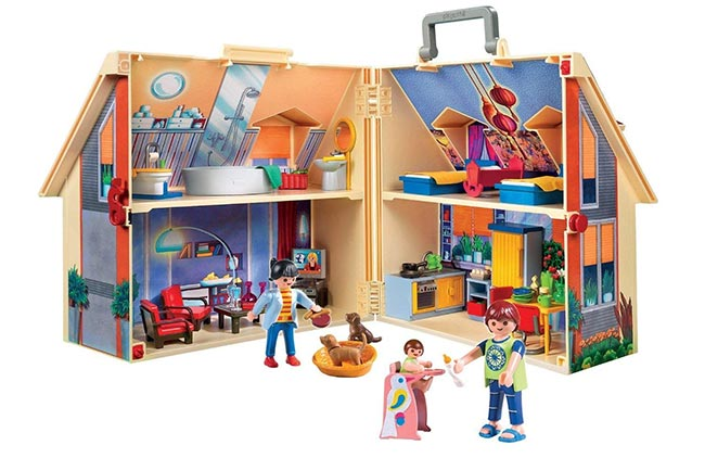 Maison Playmobil transportable à petit prix sur Amazon
