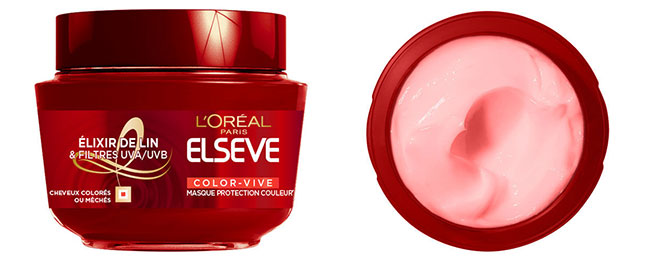 Masque protecteur Elsève Color-Vive de L'Oréal Paris