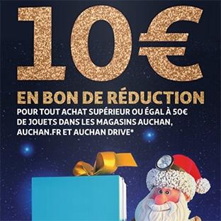 Bon De Reduction Auchan Jouets Noel 10 De Remise Des 50