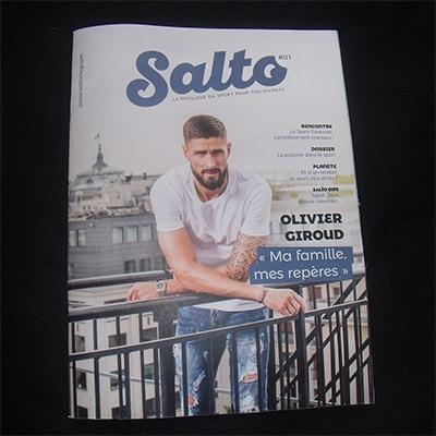 Numéro gratuit du magazine Salto