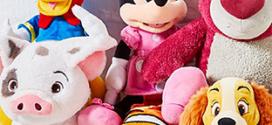 Peluches personnalisables Disney moins chères (17€)