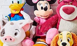 Grandes peluches personnalisables Disney moins chères (-40%)