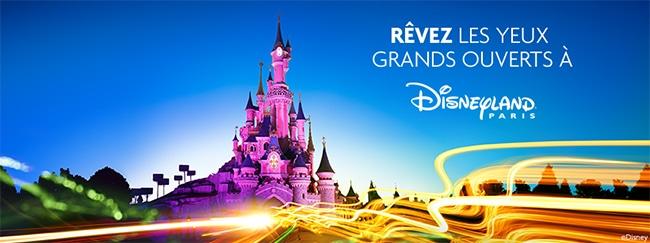 séjour à Disneyland Paris à gagner avec Optic 2000