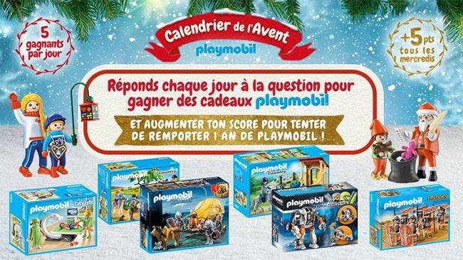 Les cadeaux Playmobil à gagner