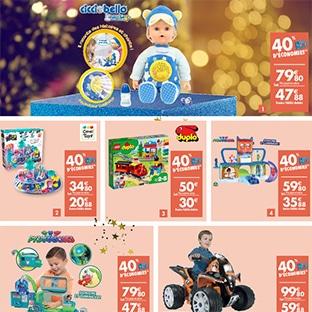 Promo Carrefour : 40% de remise fidélité sur des jouets de Noël