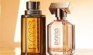 Échantillonnons gratuits des parfums The Scent Hugo Boss