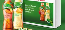Instants Plaisir Box dégustation Coca-Cola : coffret Fuze Tea