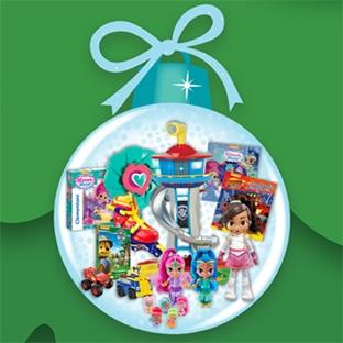Jeu Nickelodeon Junior : 4 hottes de jouets à gagner