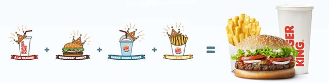 Menu Burger King offert