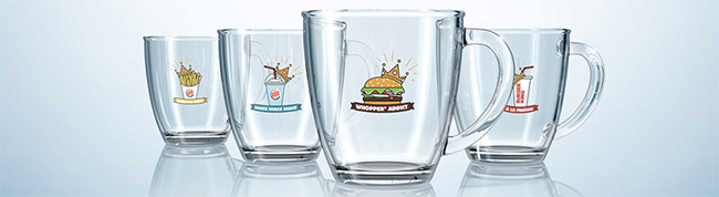 Les Mugs Burger King à collectionner