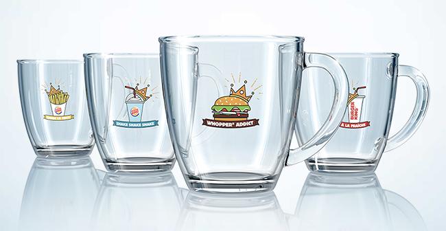 Carte Burger King Perigueux.Burger King 4 Mugs Offerts Collectionnes 1 Menu Offert