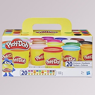 Promo Amazon : Pack de 20 pâtes à modeler Play-Doh à 11,95€