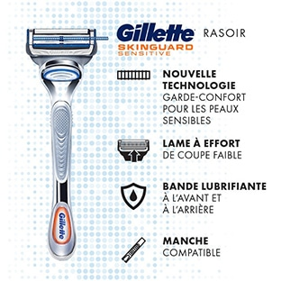 Test Gillette : 200 rasoirs SkinGuard Sensitive gratuits
