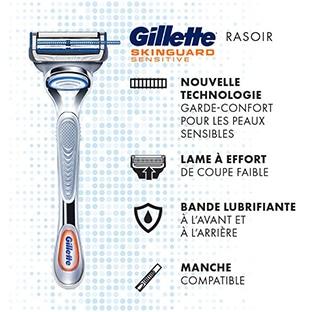 Test Gillette : 200 rasoirs SkinGuard Sensitive gratuits