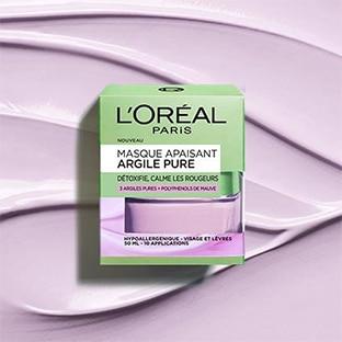 Test L'Oréal : 100 masques Apaisant Argile Pure gratuits