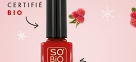 Test SO'BiO étic : 100 vernis Natural' Rouge gratuits