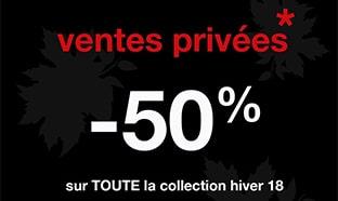 ventes privées pré-soldes Celio