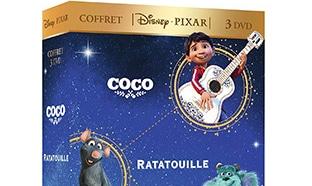 Promo Amazon : Coffret 3 DVD Disney Pixar à petit prix