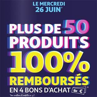 Carte Cadeau Auchan Voir Solde.Catalogue Soldes Auchan 2019 50 Produits 100 Rembourses