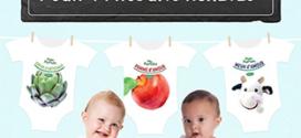Blédina : Body bébé offert pour 4 produits achetés