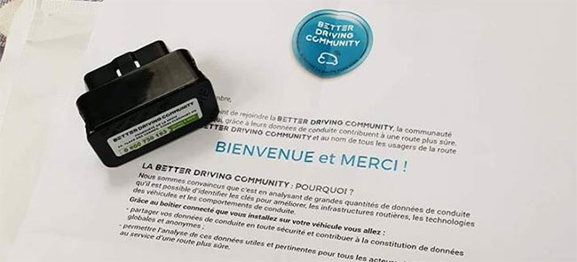 boitier Michelin Better Driving Community gratuit