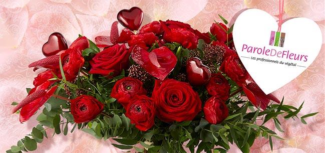 les bouquets de fleurs à gagner