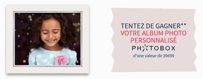 Tentez de remporter un livre photo personnalisé Photobox