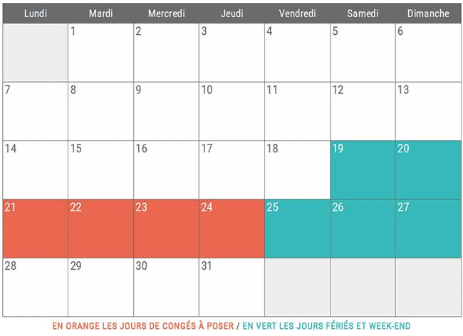 Vacances Décembre