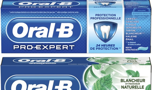 Dentifrice Oral-B gratuit avec un bon de réduction Envie de Plus