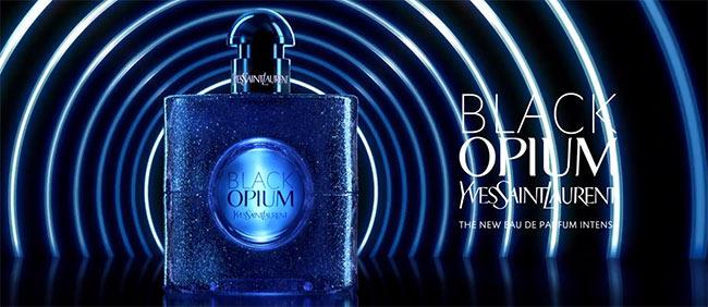 échantillon gratuit de l'eau de parfum Black Opium Intense