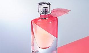 Échantillons gratuits du parfum La Vie est Belle en Rose Lancome