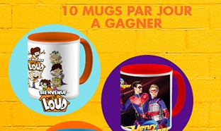 Concours Matins Ouf Nickelodeon : 200 mugs à gagner