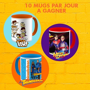 Concours Nickelodeon Matins Ouf : 200 mugs à gagner